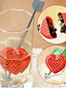 Red Design Coração filtro Colher de Chá