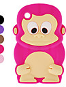 Protective Monkey Pattern Soft TPU Case for Blackberry 8520 (Assorted Colors)