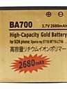 Bateria de telefone celular para Sony Ericsson BA700 (3.7V, 2680 mAh)