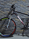 Estilo fresco reflexivo-etiqueta engomada para bicicletas (5 PC / paquete, Multicolor)