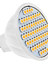 4W GU5.3(MR16) LED Spotlight MR16 60 SMD 3528 320 lm Warm White DC 12 V