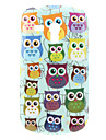 Owl Pattern Hard Case for Samsung Galaxy S3 Mini I8190