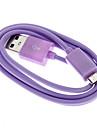 삼성, 마이크로 USB 남성 케이블에 보라색의 USB 남성 (1m)