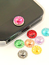Joyland Acrylic Colored Zircon Button-Sticker (1 Pack Random Color)
