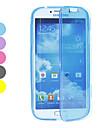 Trasparente TPU Custodia morbida Full Body per Samsung Galaxy i9500 S4 (colori assortiti)