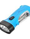 LED-9011 충전식 2 형태 9xLED 손전등 (배터리 내장, 파랑)