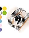 Women\'s Fashional Pattern Steel Analog Quartz Bracelet Watch (Assorted Colors)