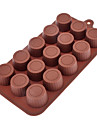Cylinder Shaped Sugarcraft Silicone Mold for Candy/Cookie/Jelly/Chocolate