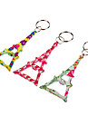 Tower Shaped Keychain (Random Color)