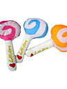 Cute Magic Lollipop Shaped Plush Toy for Pets Dogs (Assorted Colors)