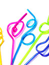 Straw Modelling (5 pecas) (cor aleatoria)