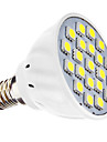 3W E14 Точечное LED освещение MR16 21 SMD 5050 240 lm Естественный белый AC 110-130 / AC 220-240 V