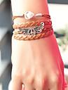 paz asa perola pulseira trancada das mulheres inspirado pulseiras joias