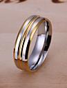 Between Inlaid diamond Steel Ring