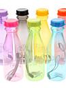 Велоспорт Бутылки для воды Велосипедный спорт/Велоспорт Желтый Зеленый Розовый Черный Синий Фиолетовый Оранжевый пластик