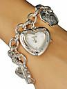 Da donna Quarzo Banda Heart Shape Argento / Oro Marca-