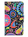 Abstraction FishPattern Full Body Case with Card Slot for HuaWei Y300