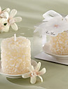 Plumier Floral-Scented Candle with Ceramic Candle Holder
