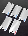 5 x LCD Screen Protector frontale per iPhone 4