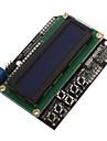 LCD1602-7 5V ЖК-монитор синий экран Жидкокристаллический дисплей с подсветкой ЭСТ