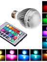 Lampadine globo Illuminazione LED integrata E26/E27 9 W Controllo a distanza RGB LM K Colori primari AC 85-265 V