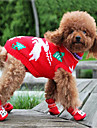 Dog Sweater Red / Blue / Pink / Rainbow Dog Clothes Winter Animal Keep Warm