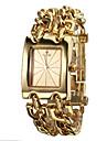 Women's Analog Quartz Gold Steel Band Bracelet Watch (Assorted Colors)
