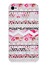 Luminous Kleine Blumen-Muster-PC Material Hard Case fuer iPhone 4/4S