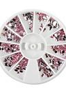 1PCS pneus Mini Mixte forme de Rose Nail Art Decoration