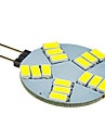 5W G4 LED Spotlight 15 SMD 5630 330 lm Cool White DC 12 V