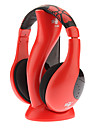 Hi-fi estereo inalambrico Comodo Headphone Red
