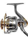 Катушки для спиннинга Спиннинговые катушки 4.7:1 12 Шариковые подшипники Заменяемый Неуклюжий ПравостороннийМорское рыболовство Ловля на
