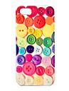 joyland bouton cas dur de modele colore pour l\'iphone 4/4s