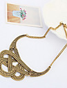 Vintage (Irregular Pendant) Gold Alloy Torque(1 Pc)