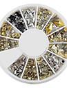 12-Style Alloy Rivet Nail Art Decoration