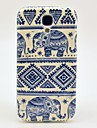Carpet Elephant Pattern TPU Soft Case Cover for Galaxy S4 I9500