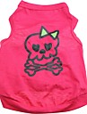 Cute skull Pattern 100% Cotton vest for Pets Dogs (Assorted Sizes)\