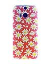 Kinston Chrysanthemum Pattern Tpu Soft Case for HTC one(m8)