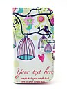 Colorful Owl and Birdcage Pattern PU Leather Full Body Case with Card Slot Stand for Moto G