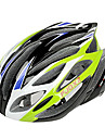 FJQXZ Integrally-molded EPS+PC Green Cycling Helmets (21 Vents)