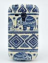 Pola Gajah Carpet Lembut Back Cover Case untuk Samsung Galaxy S3 Mini I8190