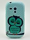 Sleeping Owl TPU Soft Case for Samsung Galaxy S3 Mini I8190