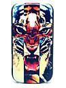 Boos Cross Tiger patroon harde Case voor Samsung Galaxy Trend Duos S7562