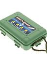 Защитный пластиковый ударопрочный фонарик Дело - Army Green