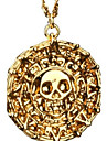 Men\'s Pendant Necklaces Alloy Skull / Skeleton Bronze Golden Jewelry Party Daily Casual Christmas Gifts