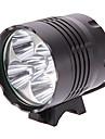 Belysning LED Lommelygter / Lommelykter LED 4000 Lumens 3 Modus Cree XM-L2 T6 18650 Multifunktion Aluminiumslegering