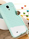 Colorful  3D Soft Silicone Chocolate Ice Cream Case for Samsung Galaxy S4 i9500 (Assorted Colors)