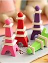 Borrador extraíble en forma de Torre Eiffel (color al azar)