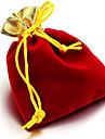 (Tilfeldig farge) Chiffon Hot gylne AApning gylne Garn Bag Tilbehoer Pocket Bag Smykker Bag Beam (1PC)