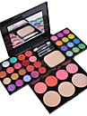 40 Paleta de Sombras Molhado Paleta da sombra Pó Maquiagem para o Dia A Dia Maquiagem de Fada